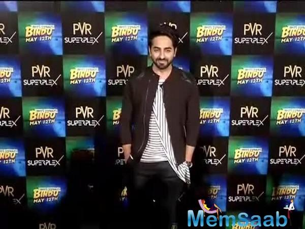Ayushmann Khurrana, who next will be seen in Meri Pyaari Bindu, comes to give comment on nepotism like other Bollywood celebrities.