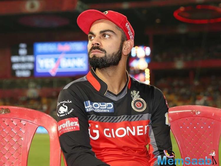 Kohli has notched up 250 runs from nine games in the IPL this season at a modest average of 27-plus with 64 being his highest score.