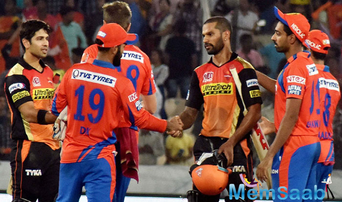 SRH beat GL by 8 wkts, qualify for playoffs