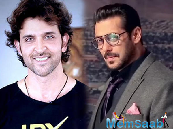When asked if he has thought of casting Hrithik for the lead, Boney says,