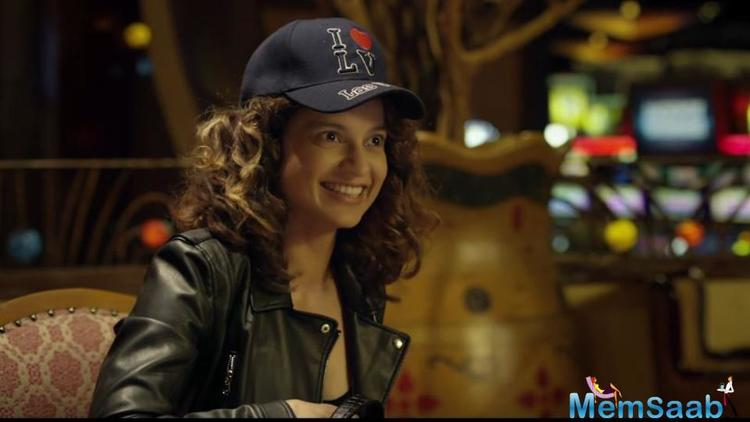 The first teaser of Kangana Ranaut-starrer Simran is already taking the internet by storm.