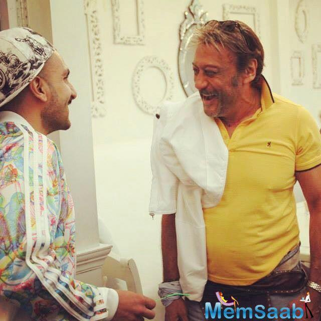 Shanoo Sharma, casting director of Yash Raj Films, posted a throwback picture of her birthday party when Ranveer Singh met Jackie Shroff.