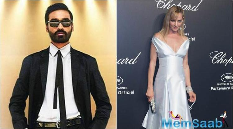 Dhanush will star opposite Uma Thurman and Alexandra Daddario, an NDTV report stated earlier. Marjane Satrapi, who is an Iranian filmmaker  will be helming this project.