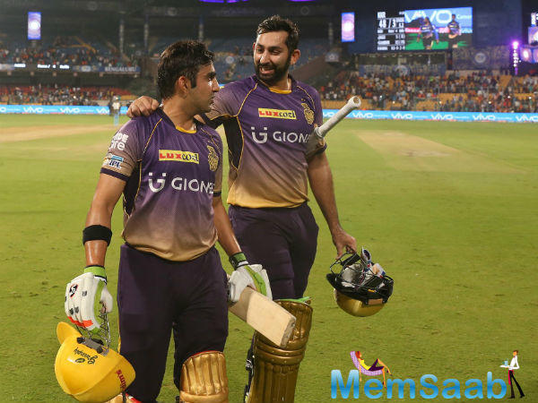 KKR will now face MI in Qualifier 2 on Friday.