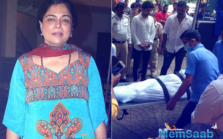 Bollywood's most loved mother Reema Lagoo passed away this morning from cardiac arrest