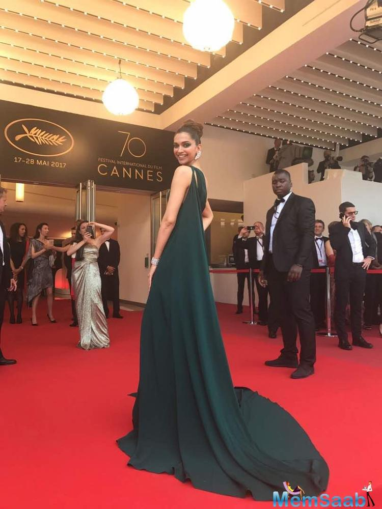 Deepika Padukone is bringing her A-game to the Cannes red carpet and the newly minted L'Oreal ambassador will walk the red carpet again, in a span of minutes.