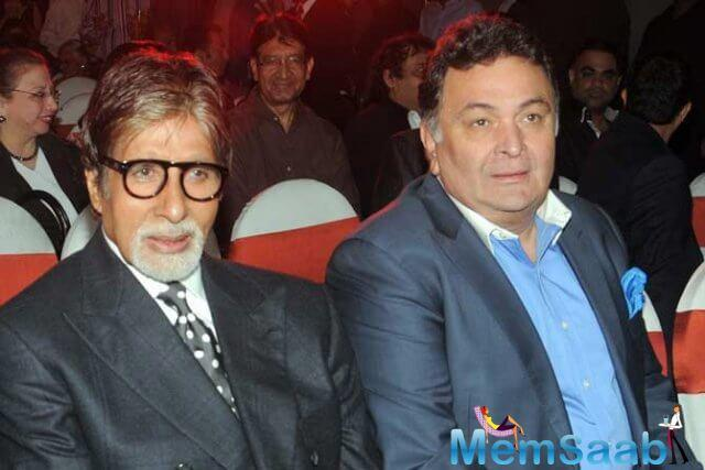 Amitabh Bachchan and Rishi Kapoor reunite after almost 3 decades for director Umesh Shukla's #102NotOut... Filming commences in Mumbai...Taran Adarsh tweeted.