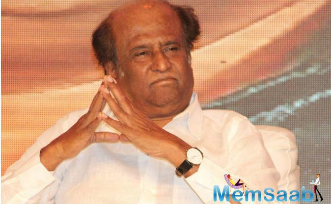 Rajinikanth proclaimed himself to be a true-blue Tamilian.