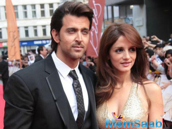 Since their split, Sussanne had been renting an apartment in a posh Andheri building.