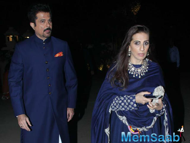 Bollywood actor Anil Kapoor and wife Sunita Kapoor are celebrating their 33rd wedding anniversary today, May 19th.