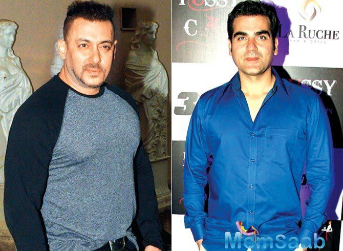 This has reportedly angered Arbaaz as he was starting work on the film at the earliest.