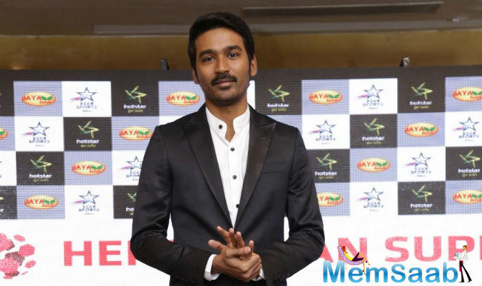 "Talking about the movie, actor Dhanush says, ""So glad to be a component of this film with partner in crimes from 3 continents, looking ahead to an extraordinary journey ahead""."