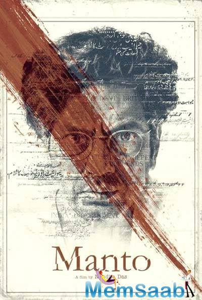 While, Rasika Dugal is playing the role of Safia Manto, Nawazuddin Siddiqui transforms into Saadat Hasan Manto.