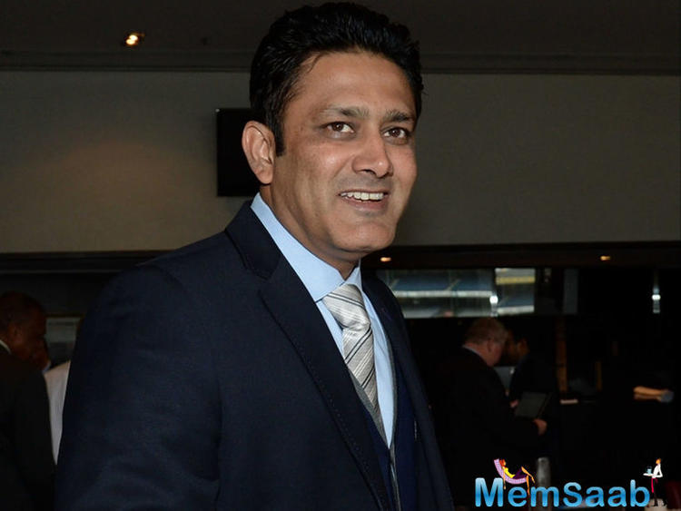 While certain media reports have suggested that the BCCI may not be too happy with Kumble.