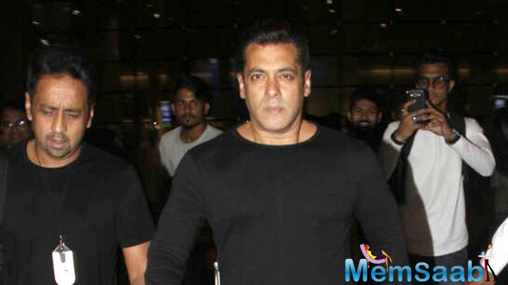 """Salman also talked about late veteran actor Om Puri, who too essayed a role in the film and actress Reema Lagoo who played his on-screen mother in """"Hum Aapke Hain Kaun..!"""" and """"Hum Saath Saath Hain""""."""