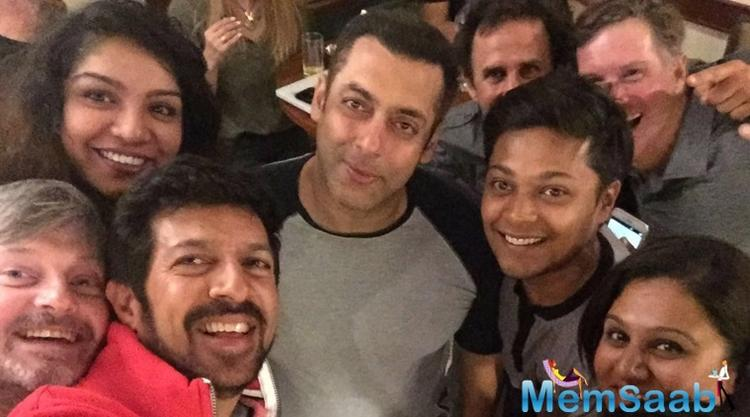 """""""Tubelight"""" is all set to release on June 23. Salman and Sohail also showed the trailer of their film to their mother Salma Khan on Wednesday."""