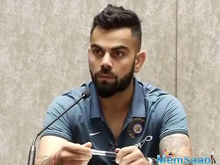 Kohli's India won the last edition of the Champions Trophy, also played in England, in 2013, defeating the hosts by just five runs in a final reduced to 20 overs a side due to rain.
