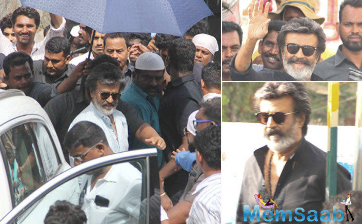 South  Superstar Rajinikanth now joins the team for a schedule of 40 days in Mumbai.