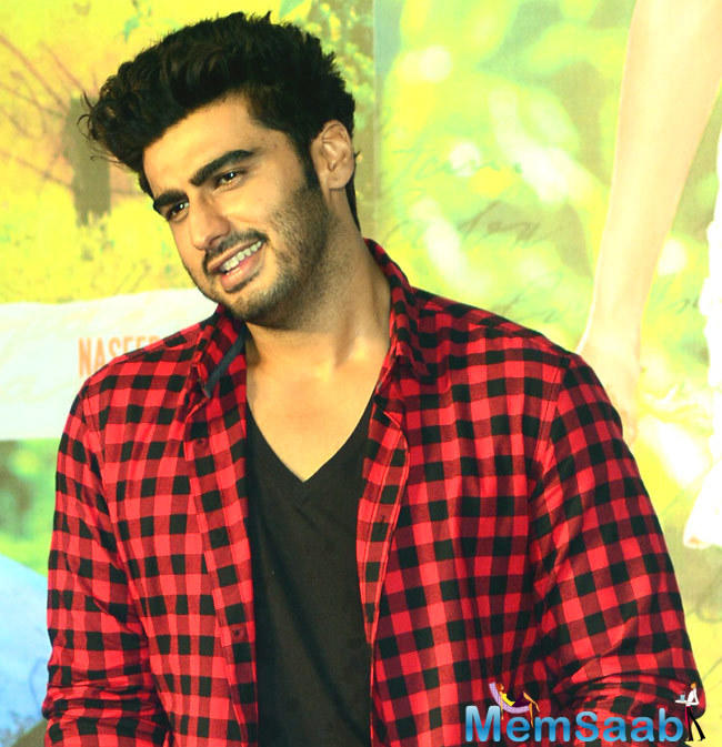 With biopics being the flavour of the season, Arjun Kapoor also asked about that he would love to do a biopic?