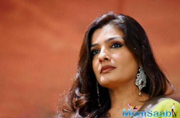 Yesteryear actress Raveena Tandon, who had been keeping distance for some days from Bollywood, now made her come back with 'Maatr'.