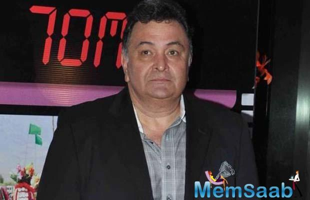 An FIR was filed against veteran actor Rishi Kapoor at the Khar police station in Mumbai, for 'illegally' cutting a tree.