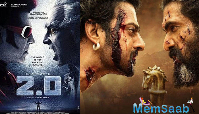 Reports suggest that Rajini's sci-fi drama is heading towards achieving a pathbreaking number at the box office, breaking the humongous record set by SS Rajamouli's magnum opus 'Baahubali 2'.