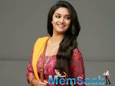 Keerthy has already started the shooting.