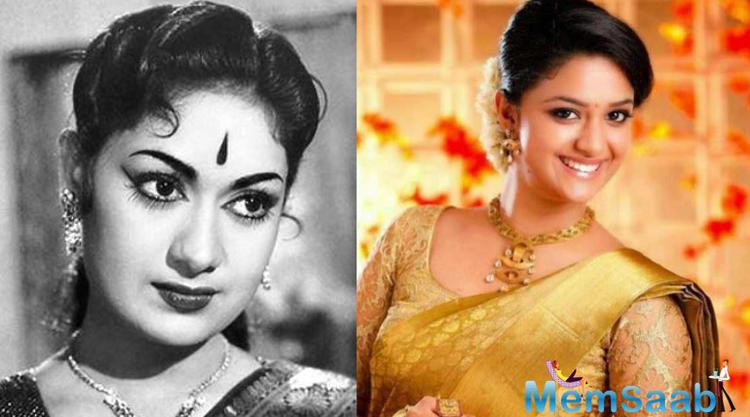 Telugu Veteran Actress Savithri Rare Stills: Keerthy Suresh To Gain Weight For Savitri Biopic