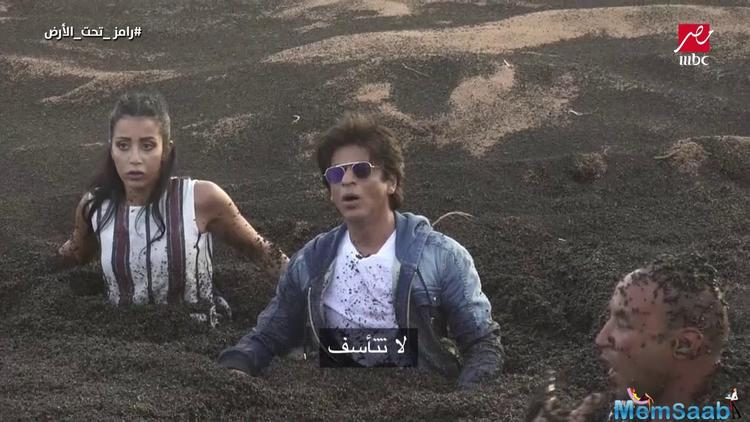 Shah Rukh Khan was subjected to a scary prank by Egyptian prank show host Ramez Galal. Which was not going well with SRK.