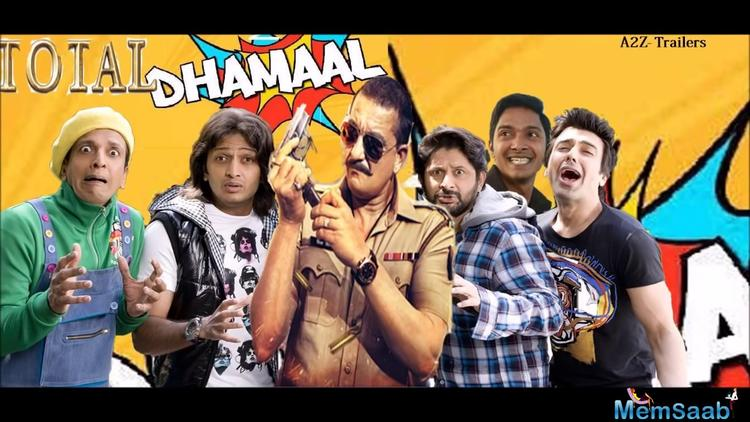 In all the previous films, the cast included Sanjay Dutt, Arshad Warsi, Riteish Deshmukh, Jaaved Jaffery and Ashish Chowdhry.