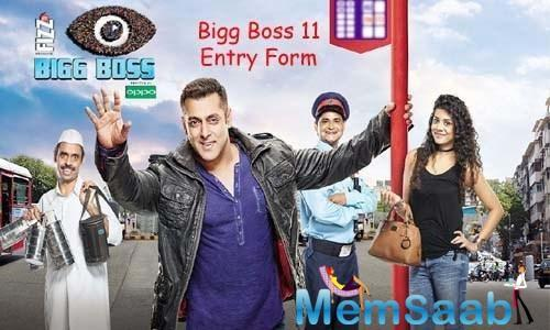 "And he wrote, ""Here we go all @BiggBoss fans. Auditions open for #Biggboss season 11 with @BeingSalmanKhan Presented by @iamappyfizz !  @nadiachauha""."