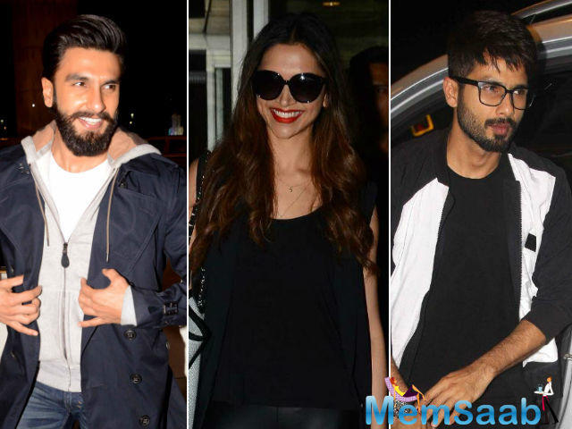 Since all Bhansali movies have intense romance in them, 'Padmavati' also has a strong love story, but this will only be between Shahid and Deepika.