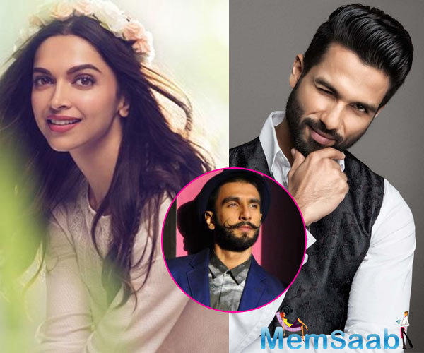 However, the plot twist came when Shahid Kapoor also became a part of the project, and the makers confirmed of him playing the part of Deepika's husband in the movie.