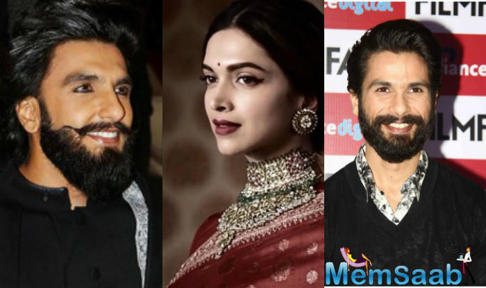 Now, since the movie is about Queen Padmavati's life, it will obviously highlight her and her husband the maximum. Does this make Ranveer's character little less highlighted?