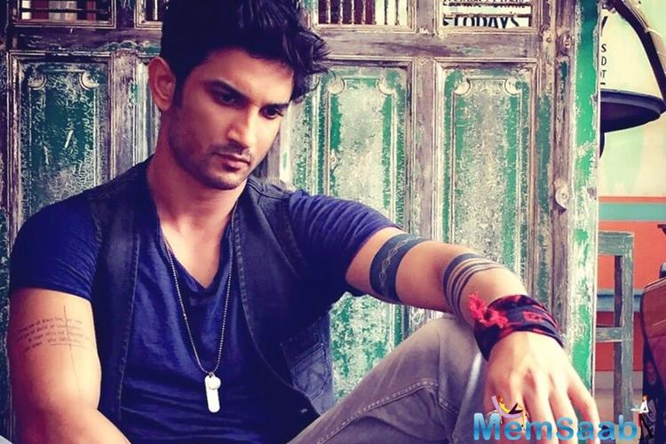 Sushant says he is not