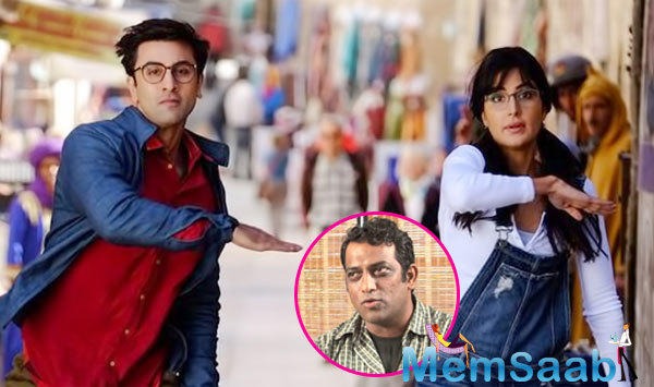 The song will serve as an onscreen reunion of the hit 'Barfi' duo of Anurag Basu and Ranbir Kapoor, playing the titular role, embarked on an adventurous journey while on a search for his father.