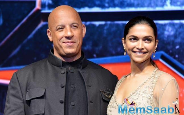 Deepika-Vin's off-screen chemistry, both during the shoot and promotions of the DP's Hollywood debut, proved that the co-actors shared a great rapport with each other.