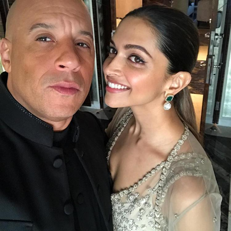 Diesel took to Instagram to post an adorable selfie with Deepika and wrote alongside,
