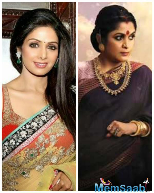 During the promotion her upcoming thriller 'Mom', Sridevi was asked again about why she refused the SS Rajamouli epic.