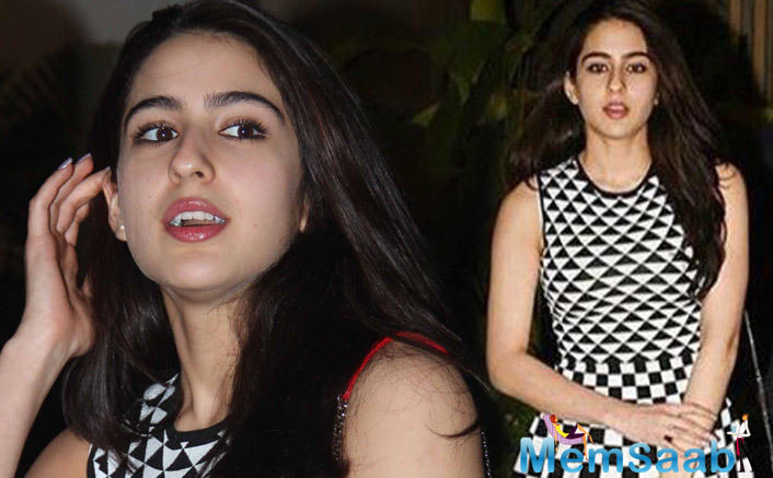 After a lot of speculation about Sara Ali Khan Bollywood debut, finally She has film.