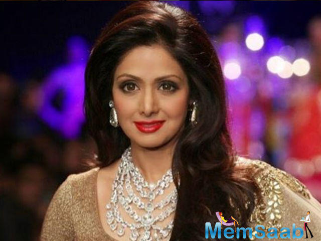 Sridevi herself remains unaffected by all the adulation.