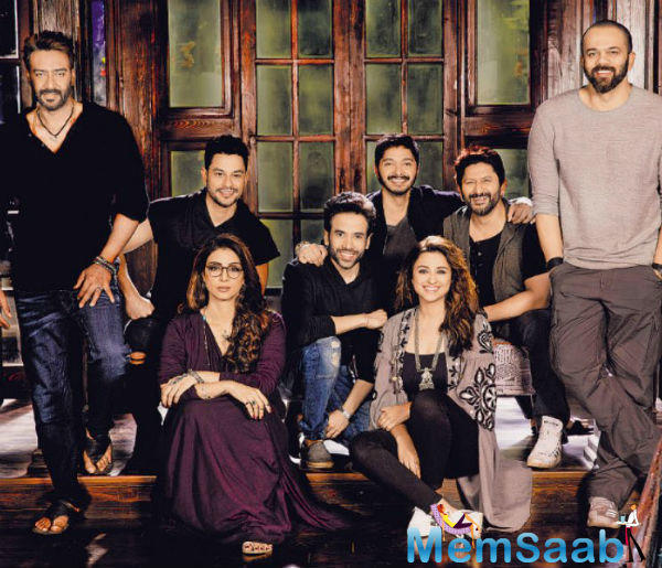 This will be the first time that Parineeti Chopra, Neil Nitin Mukesh and Tabu will be working with Rohit Shetty, while the other actors have been part of the previous cast for all his Golmaal movies.