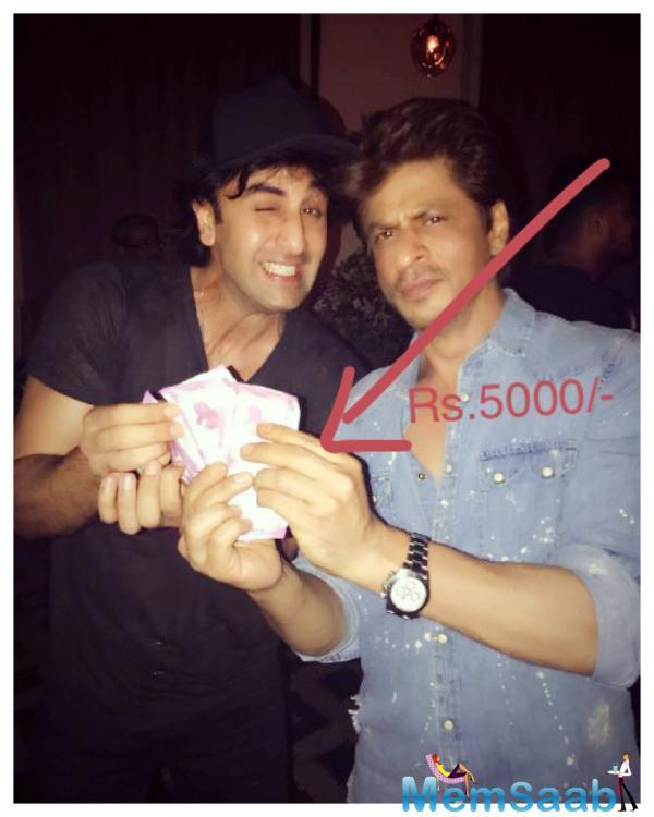 In an interview, Ranbir also said that he wants Rs 5,000 reward for suggesting title 'Jab Harry Met Sejal' for SRK's film.