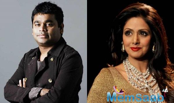 Addressing at the event, Rahman said the tale of 'Mom' is