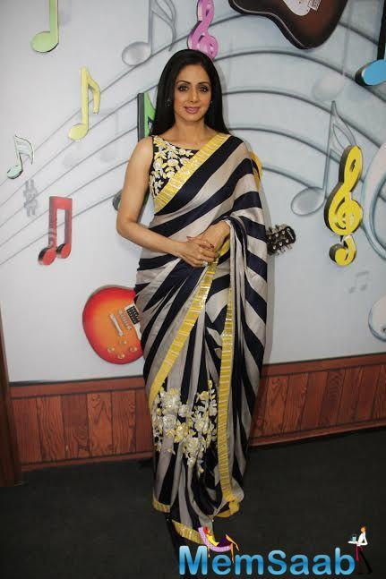 In the urban center to promote the Tamil dubbed version of 'Mom', she said the film is a