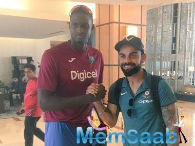 With Jason Holder's men just about managing to describe the three-match ODI series against Afghanistan 1-1, there is no question that the current Indian team are a few notches ahead in terms of tone.