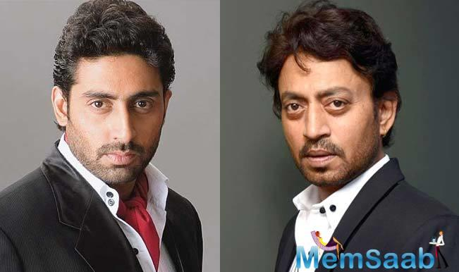 However, a recent report suggests that Abhishek Bachchan opted out of the film