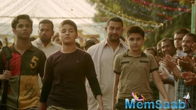 On the professional front, Aamir Khan will be next examined in 'Secret Superstar' alongside Zaira Wasim.