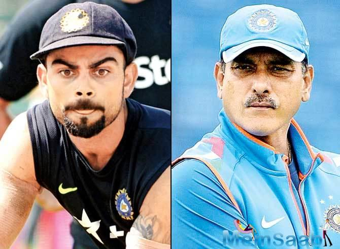 In the past, Shastri and Kohli had enjoyed a strong working relationship.