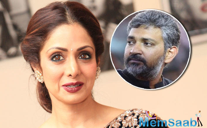 """He continued, And so we approached Ramya Krishnan and she proved herself fantastic and we now feel, we were lucky that we dismissed the idea of having Sridevi in our film."""""""